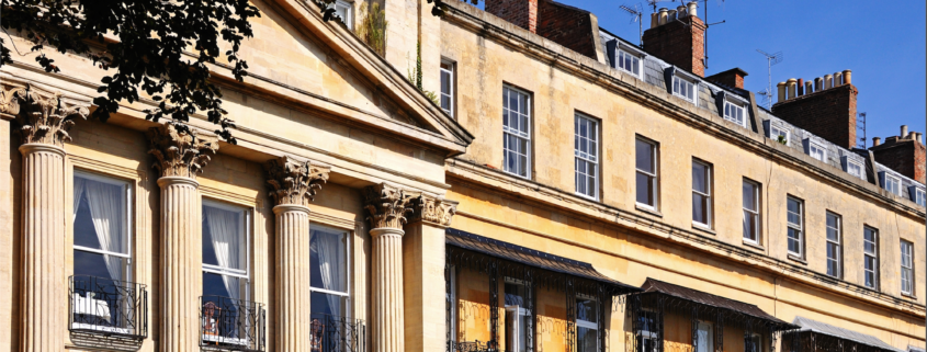 image of buildings in cheltenham, Gloucestershire